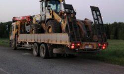 Воровайка 10 тонн со сходнями